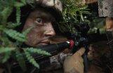 ВИДЕО: Земессарги оттачивают боевые навыки в США