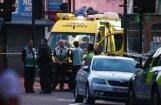 Mikroautobusam uzbraucot gājējiem, Londonā miris viens cilvēks un astoņi ievainoti