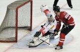 Kanādas hokeja izlase pārbaudes spēlē pēcspēles metienos uzvar Šveici