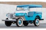Foto: 60. gadu 'Jeep' braukšanai pa pludmali