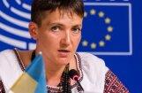 Надежда Савченко исключена из украинской делегации в ПАСЕ