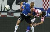 Igaunijas futbolisti zaudē EURO 2012 dalībniecei Horvātijai