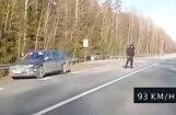 ВИДЕО: На регистраторе водителя 93 км/ч, полиция оштрафовала за 151 км/ч
