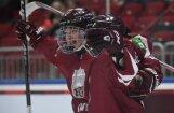 Юниорская сборная Латвии победила датчан и вернулась в мировую элиту