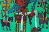 'Saatchi' sākas balsojums par Djomina gleznu 'Hegemoņu higiēna'
