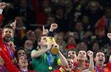 Čempione Spānija uz Pasaules kausu brauks ar plašu pussargu līniju