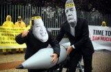 Nobela Miera prēmiju piešķir kodolieroču likvidēšanas kampaņai