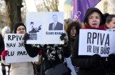 ФОТО: Студенты RPIVA протестуют против уничтожения своей академии