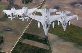 Испанские истребители вновь патрулируют Балтию после ошибочного запуска ракеты