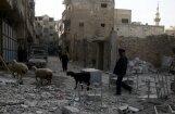 ANO Drošības padome izskata rezolūcijas projektu par 30 dienu pamieru Sīrijā