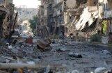 Rinkēvičs: trieciens pa Sīrijas militārajiem objektiem ir pilnīgi leģitīms