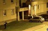Video: Kā Daugavpilī pašvaldības policisti aizturēja auto apzadzēju