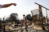 Savvaļas ugunsgrēkos Kalifornijā dzīvību zaudējuši jau 17 cilvēki