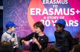 Strasbūrā atzīmē 'Erasmus' programmas 30. dzimšanas dienu