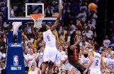 'Heat' izlīdzina rezultātu NBA finālsērijā