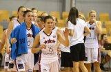Latvijas basketbolistes pārbaudes spēlē piekāpjas Francijai