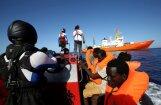Francija kritizē Itālijas lēmumu saistībā ar migrantu kuģi