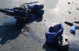Во время тренировки насмерть разбился мотогонщик