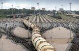 Перевалка грузов в Рижском порту снизилась на 600 тысяч тонн