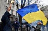 Солидарные с блокадой Донбасса националисты устроили погром в Киеве