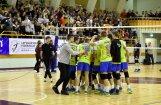 Jēkabpils 'Lūšu' volejbolisti nonāk uzvaras attālumā no Latvijas čempiontitula