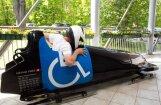 Foto: Paralimpiskajā sporta dienā pulcējas rekordliels dalībnieku skaits