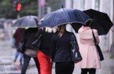 Svētku brīvdienās iespējams lietus un slapjš sniegs