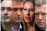 Putina pretinieki: 12 Kremļa opozīcijas līderi