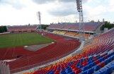 В Риге открылся обновленный стадион