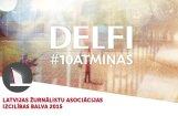 Portāls 'Delfi' saņem žurnālistu asociācijas 'Izcilības balvu 2015'