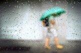 Svētdien daudzviet gaidāms īslaicīgs lietus; iespējams arī pērkona negaiss