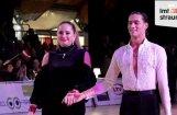 Video: Ostapenko demonstrē graciozu sniegumu uz deju grīdas