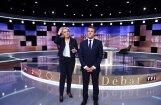 Ле Пен и Макрон устроили ожесточенные теледебаты
