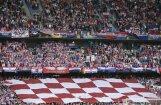 Frankfurtē svinību laikā bojā gājis horvātu futbola fans