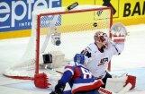 Slovākija sagādā ASV hokejistiem pirmo zaudējumu