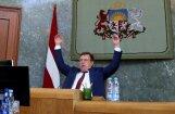 Правительство поддержало ежегодный доклад Кучинскиса о работе самого правительства