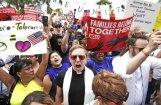 Сотни человек задержаны в Вашингтоне на акции протеста против политики Трампа