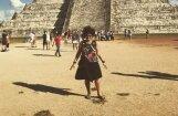 Foto: Elitas Patmalnieces krāšņās brīvdienas Meksikā