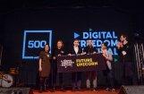 Foto: Ar Latvijas un Somijas startapu triumfu noslēdzas 'Digital Freedom Festival'