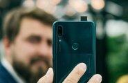 Arī 'Huawei' piedāvā telefonu ar izbīdāmu fotokameru