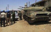 ANO: Sīrijā notiek pilsoņu karš