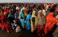 Indijas iedzīvotāju skaits sasniedz 1,21 miljardu