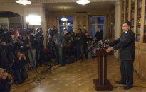 Dombrovskis uzņemas atbildību par traģēdiju Zolitūdē (teksta tiešraides arhīvs)