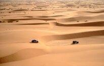 Saukāna ekipāžai uzvara 'Africa Eco Race' rallijreida piektajā posmā
