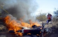 Dakaras rallija piektais ātrumposms - elle pampās