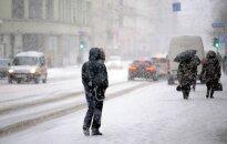 Латвию накроет снегопадами