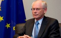 Van Rompejs turpinās pildīt ES prezidenta pienākumus