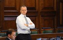 NA kultūras ministra kandidātu pagaidām nevirzīs; atgādina par budžeta prasībām