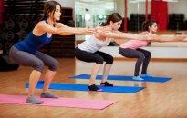 Dziļie, līdz pusei vai atbalstoties - dažādi pietupienu veidi, kas uzlabos veselību