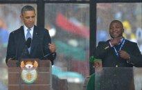 Mandelas piemiņas pasākuma surdotulks izrādījies krāpnieks